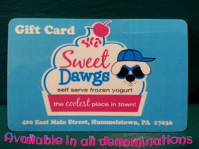 Get your Sweet Dawgs Gift Card!